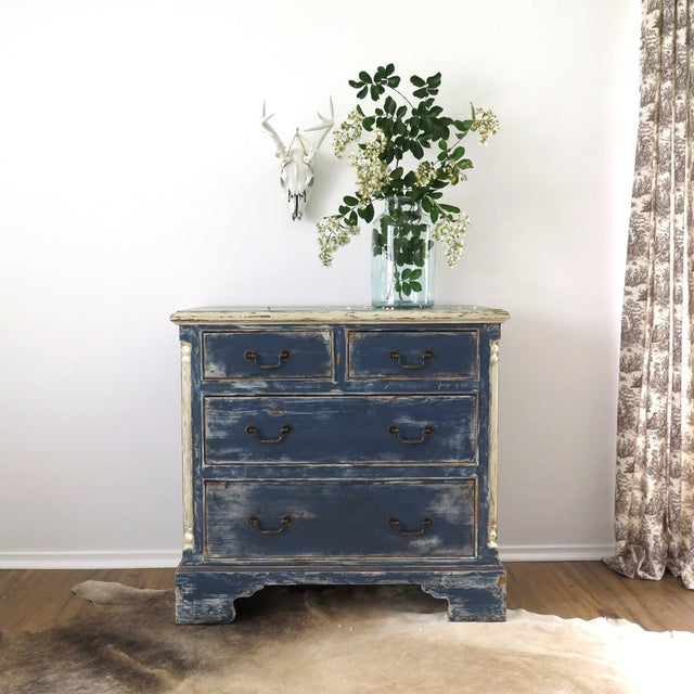 Antique Painted Chest of Drawers - Image 2 of 10