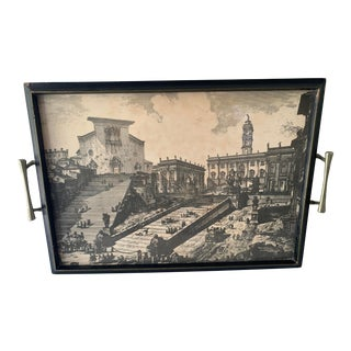 Santa Maria in Aracoeli/Roman Italian Senate Tray For Sale