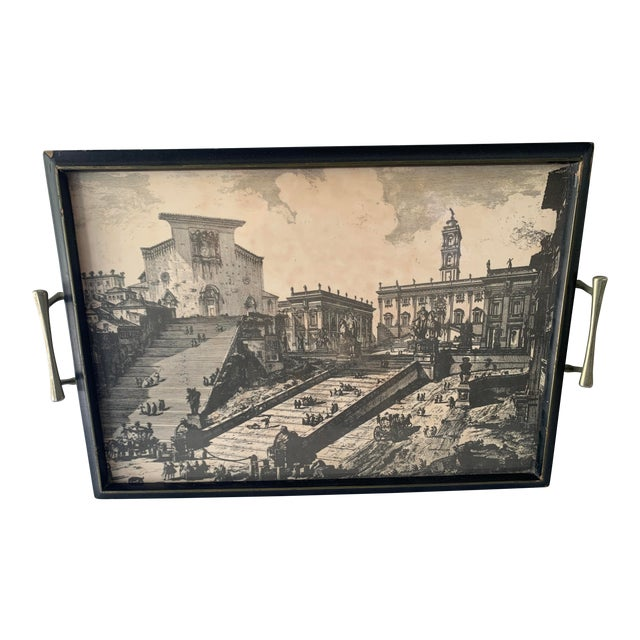 Santa Maria in Aracoeli/Roman Italian Senate Tray For Sale