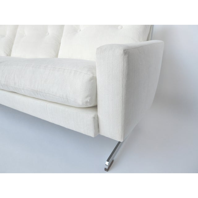 White Danish Modern Sofa by Johannes Andersen - Image 9 of 10