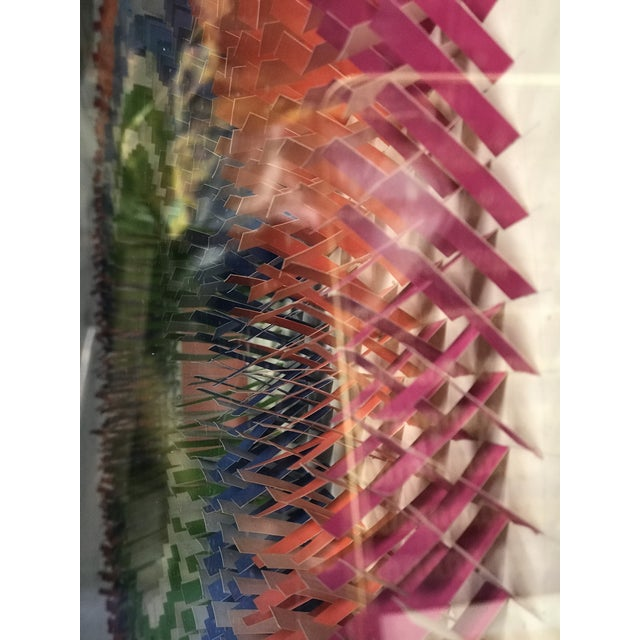 Paper Large Modernist Paper Sculpture by Irving Harper For Sale - Image 7 of 12