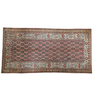 "Antique Kurdish Rug Runner - 4'9"" X 9'5"""