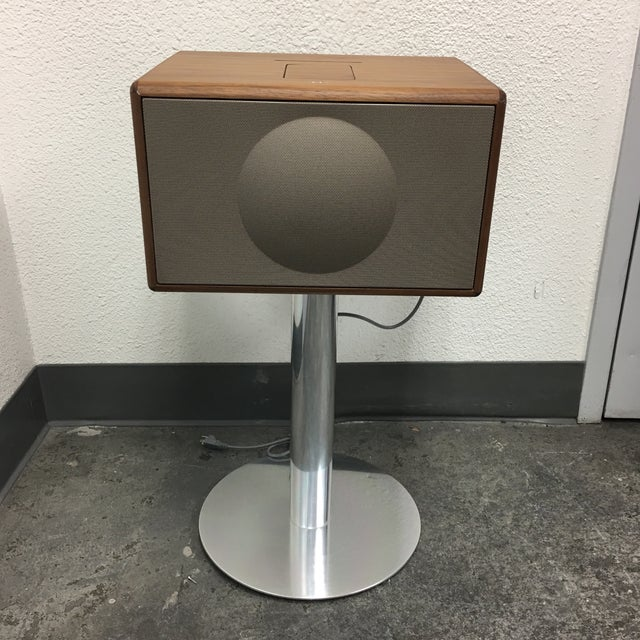 Geneva Lab Walnut and Chrome Sound System - Image 2 of 7