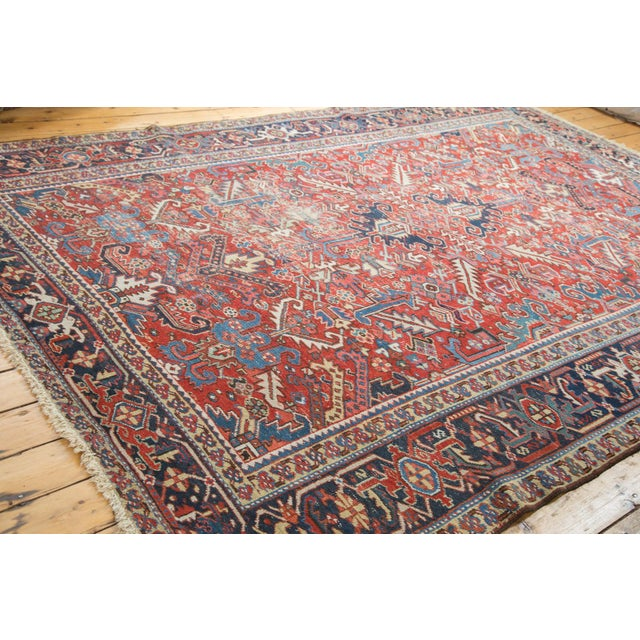 "Distressed Heriz Carpet - 8' X 11'2"" - Image 10 of 10"