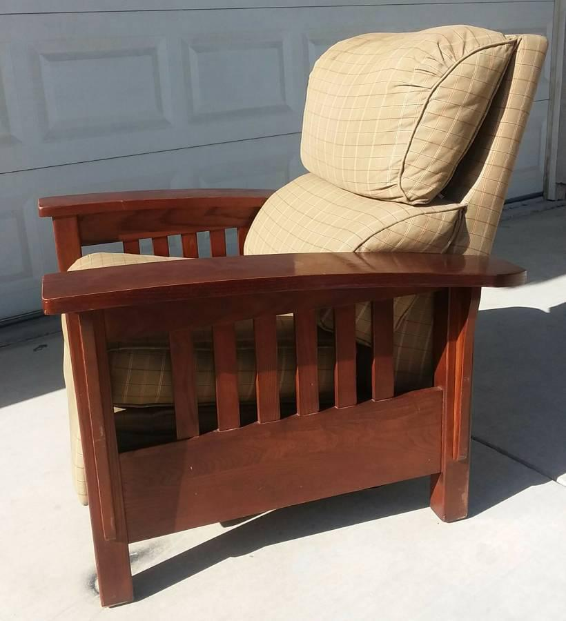 Thomasville Mission Style Reclining Chair   Image 2 Of 7