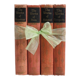 Vintage Book Gift Set: Blush Classics, S/4