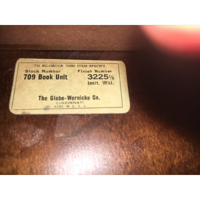 Antique Globe Wernicke Lawyer's Barrister Bookcase - Image 7 of 10
