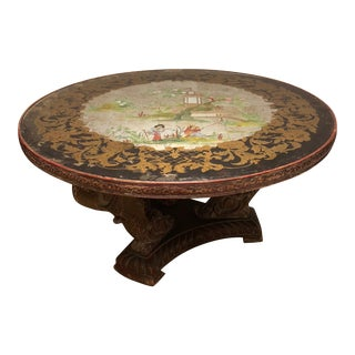 Chinoiserie Round Coffee Table