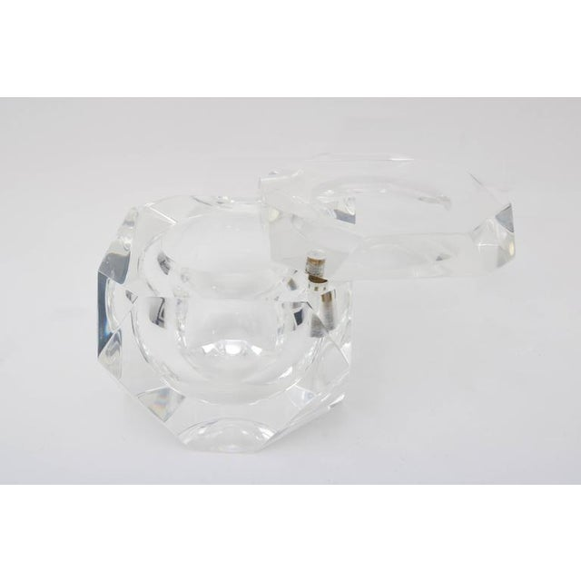 Alessandro Albrizzi Clear Lucite Ice Bucket - Image 4 of 7