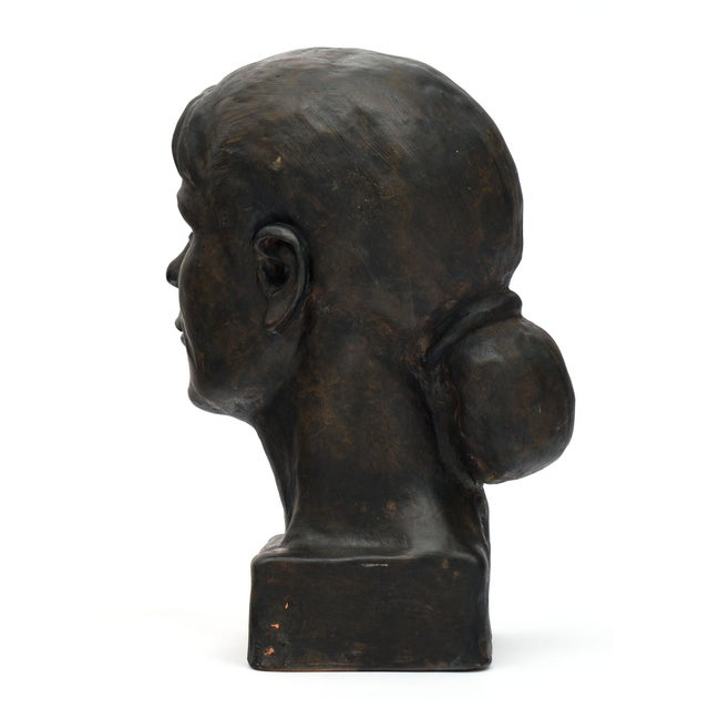 French Terracotta Bust For Sale - Image 9 of 10