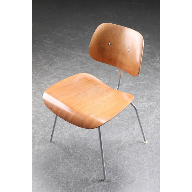 DCM Dining Chair by Charles & Ray Eames for Herman Miller, 1955 For Sale - Image 5 of 9
