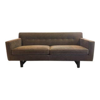 Modern Room & Board Andre Two Cushion Sofa For Sale