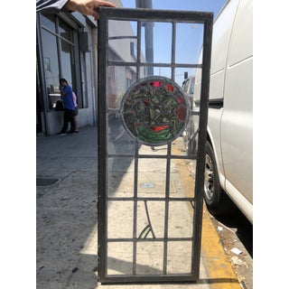 1920's Vintage Leaded Glass Window Preview
