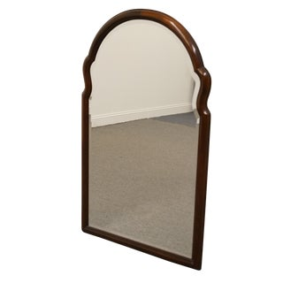 Late 20th Century Vintage Century Furniture Mahogany Chippendale Dresser Mirror For Sale