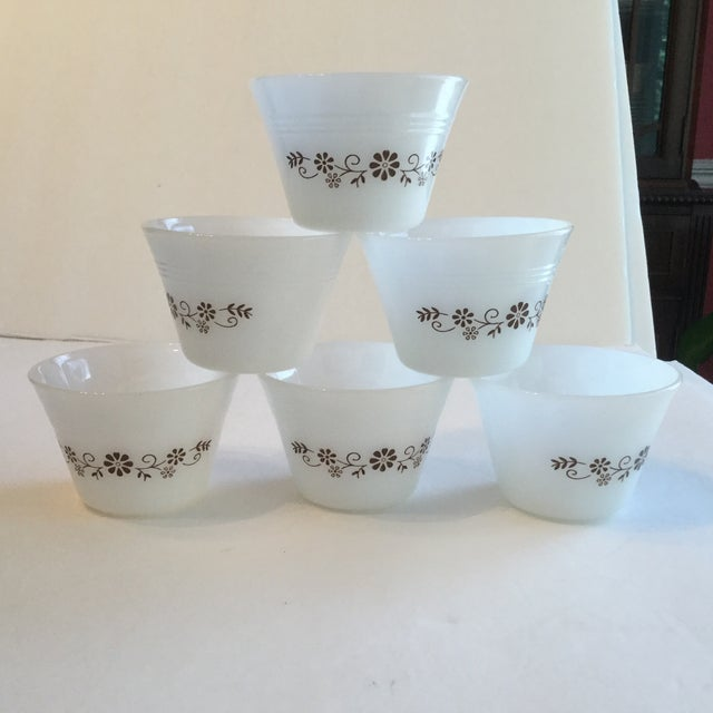 Milk Glass Custard Cups - Set of 6 - Image 3 of 10