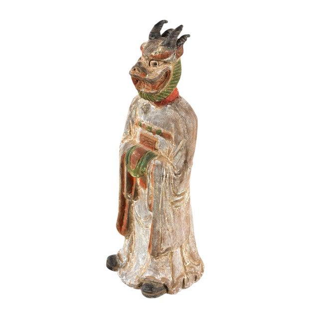 Antique Chinese Zodiac Dragon Figurine - Image 1 of 9