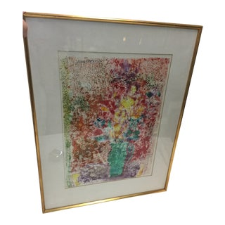 Luis Orozco Monotype Signed Mid Century Modern For Sale