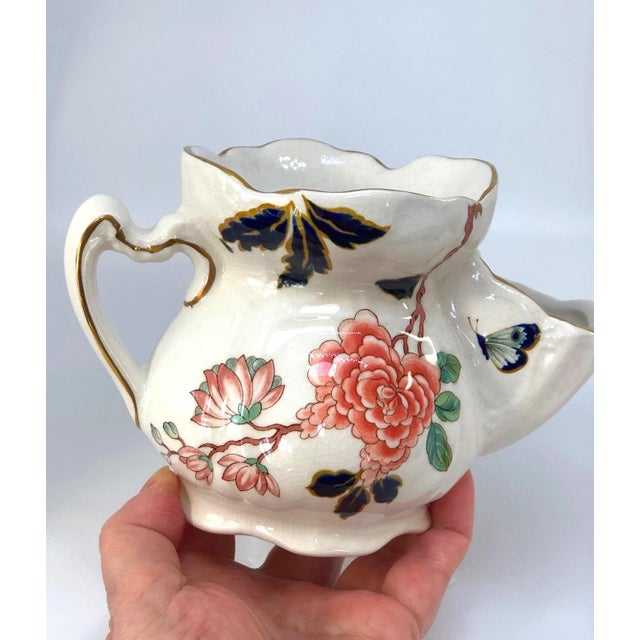 Mid 20th Century Vintage Chinese Rose Old Foley James Kent Staffordshire For Sale - Image 5 of 12