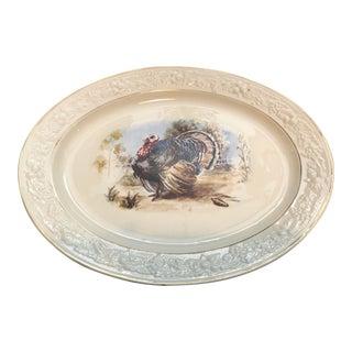 Hommer Laughlin Transfer-Ware Turkey Platter For Sale
