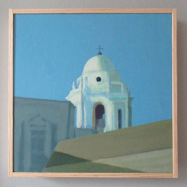 Anne Carrozza Remick Bell Tower of Cádiz Cathedral, Spain by Anne Carrozza Remick For Sale - Image 4 of 4