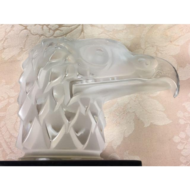 Lalique Eagle Car Mascot Paperweight For Sale In Tampa - Image 6 of 11