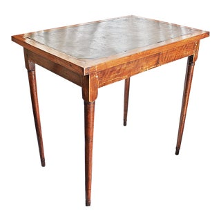 Antique Slate-Top Table