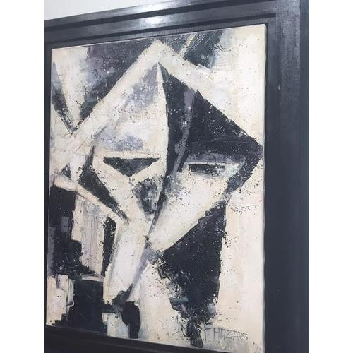 Contemporary Vintage Cuban Painting, Framed For Sale - Image 3 of 8