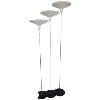 Charming Set of Three Italian Floor Lamps For Sale