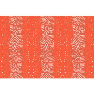 Zebra Firenze Linen Cotton Fabric, 3 Yards For Sale