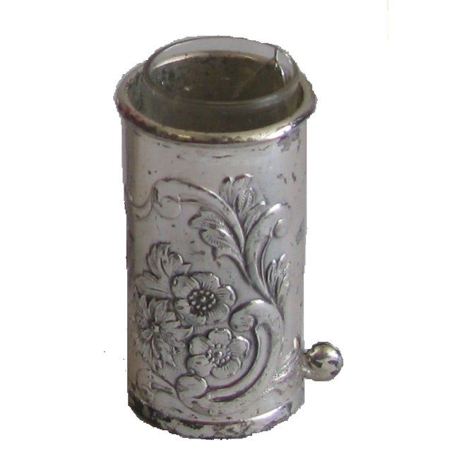 Silver Repousse Placecard Menu Vases - Set of 4 - Image 2 of 3