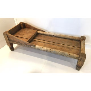 Early 20th Century Antique Primitive Wood Rustic Bench Preview