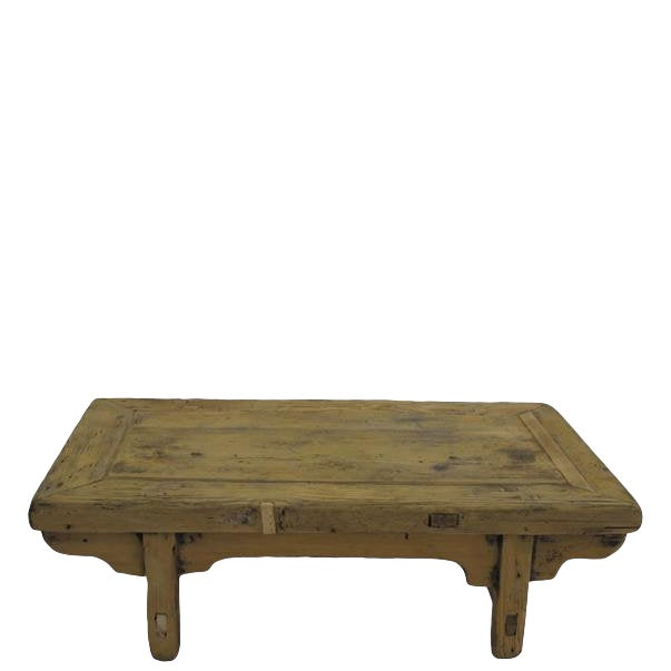 Small Rustic Kang Accent Table or Coffee Table For Sale