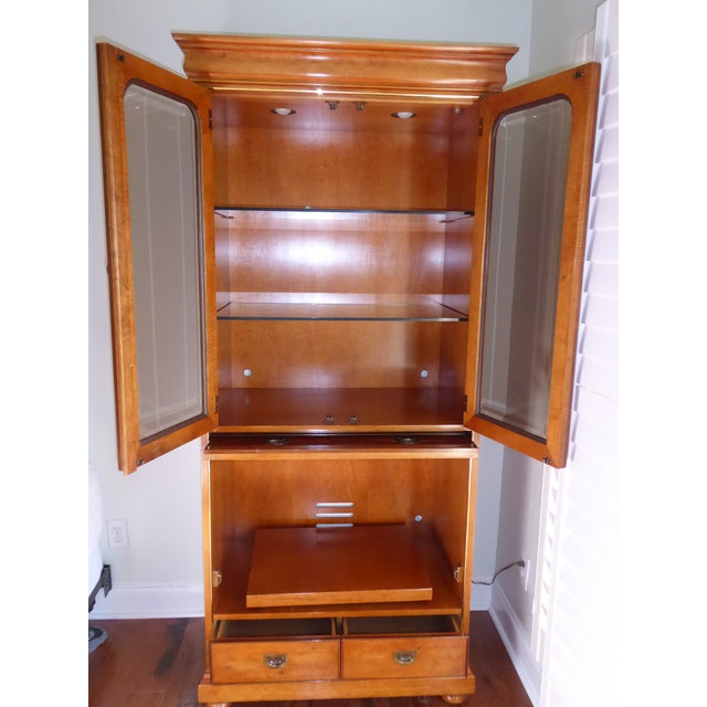 Mt. Airy Display Armoire Cabinet - Image 4 of 11