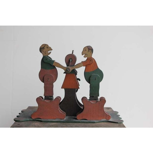 1900's Hand Made Articulated Folk Art Toy - Image 3 of 4