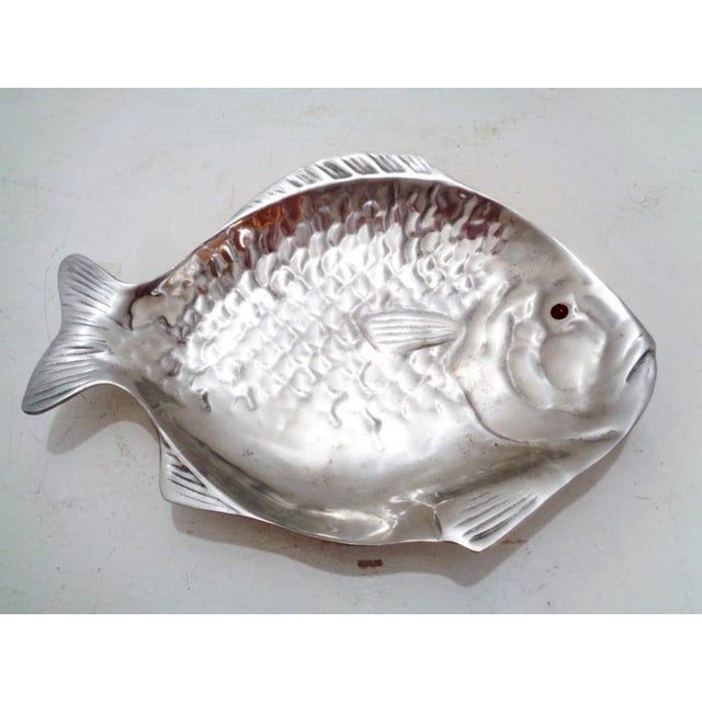 Metal Arthur Court Fish Serving Tray Platter For Sale - Image 7 of 7