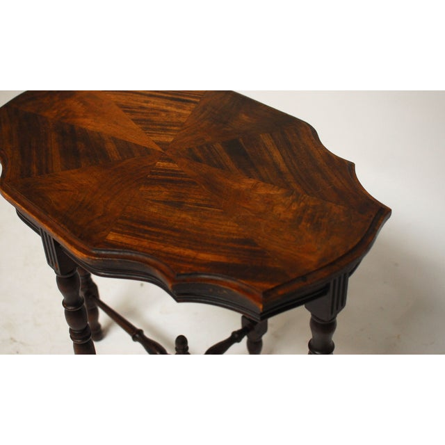 Mahogany Occasional Table - Image 3 of 6