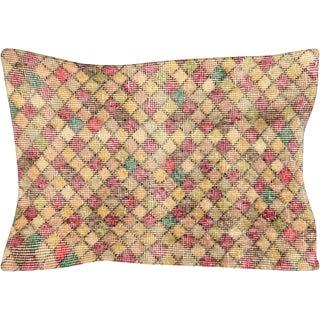 1960s Turkish Mid Century Lumbar Pillow For Sale