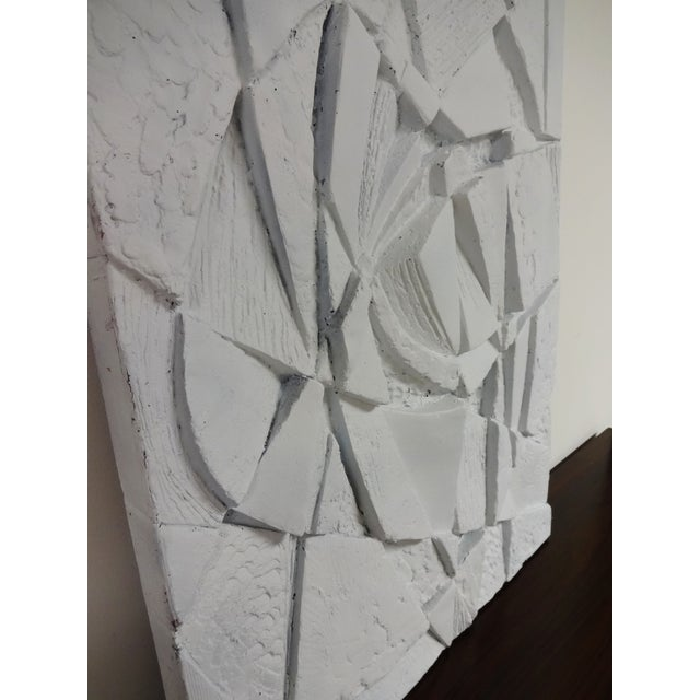Mid-Century 3D Geometric Wall Hanging Sculpture For Sale - Image 10 of 10