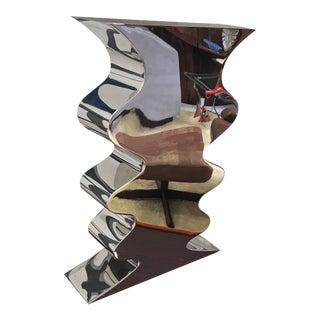 Brueton Metal Vase