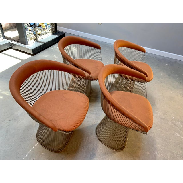 1960s Original Platner Arm Chairs for Knoll International - Set of Four For Sale In West Palm - Image 6 of 12