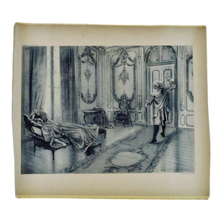 1899 Photogravure of William De Leftwich Dodge's Marriage of Figaro Painting For Sale