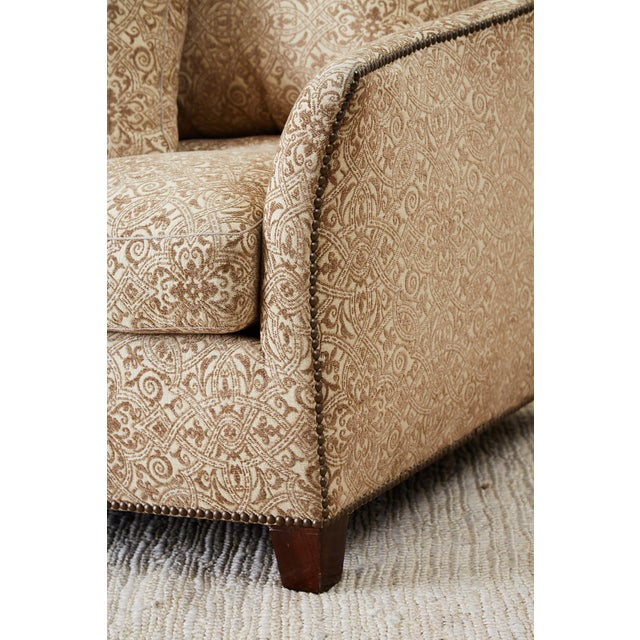 Jonas New York Bruxelles Four Seat Upholstered Sofa For Sale - Image 10 of 13