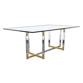 """Vintage """"Metric"""" Collection Dining Table by Charles Hollis Jones For Sale"""