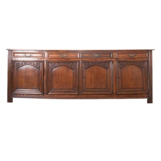 French 19th Century Oak Enfilade For Sale
