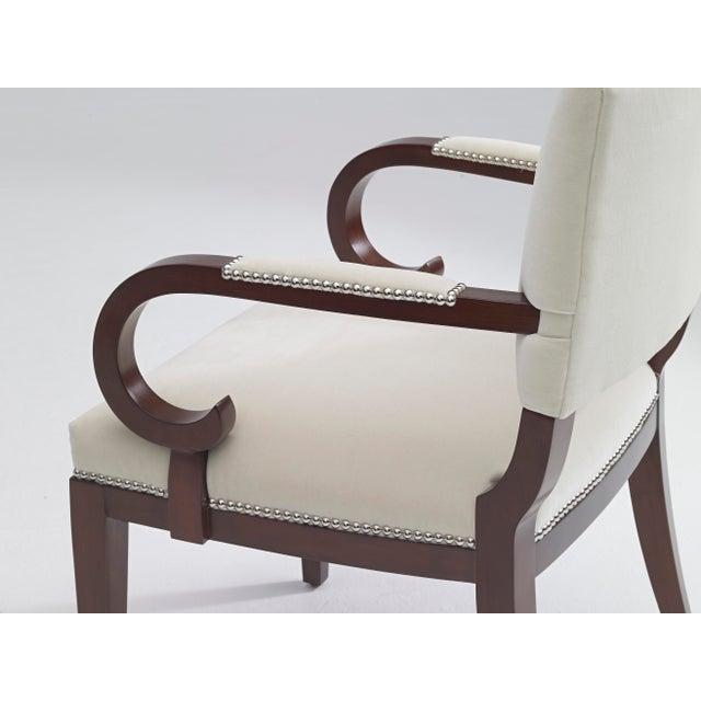 Ralph Lauren Ralph Lauren Mayfair Dining Arm Chair For Sale - Image 4 of 6