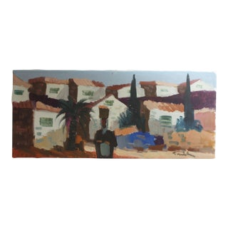 Spanish Impressionist Oil Painting For Sale