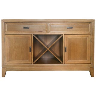 Entertainment Credenza - With Wine Storage