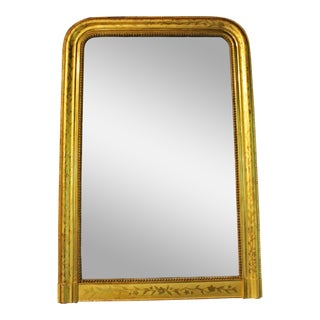 Early 19th Century Antique French Gilt Mirror For Sale