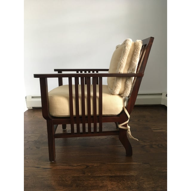 Mariette Himes Gomez Slat Back Chair - Image 4 of 6