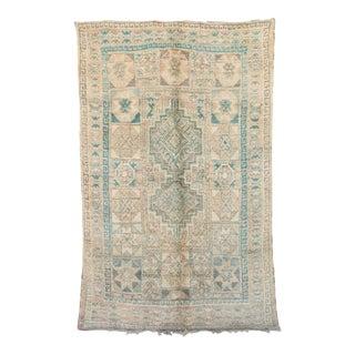"Boujad Vintage Moroccan Rug, 6'7"" X 10'4"" For Sale"